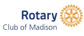 Rotary Club of Madison Logo